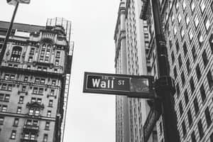 Wall Street: History, Crashes, And Facts