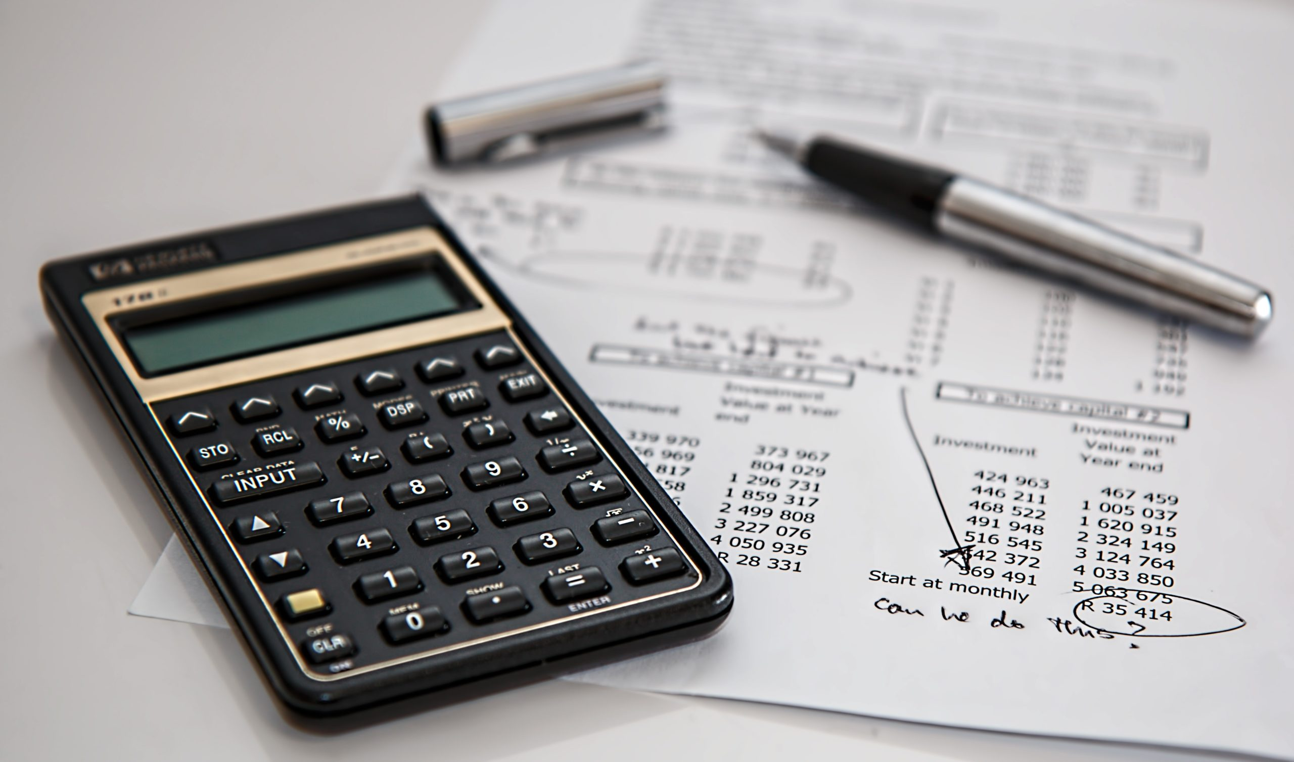 finance and planning